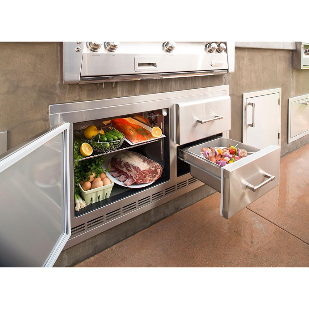 Alfresco Built-In Under Grill Refrigerator - Premier Grilling