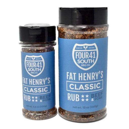 Four 41 South Fat Henry's Classic Beef Rub