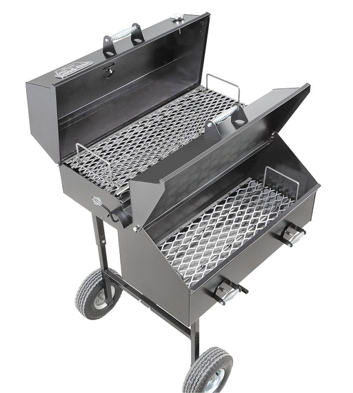 The Good-One Patio Junior Smoker/Grill - Premier Grilling