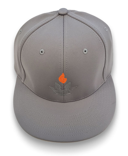 Premier Grilling Light Gray Fitted Hat L/XL - Premier Grilling