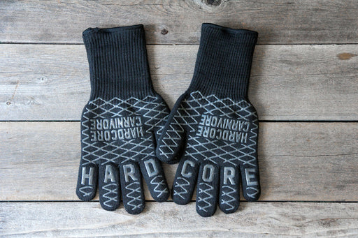 Hardcore Carnivore High Heat Gloves - Premier Grilling
