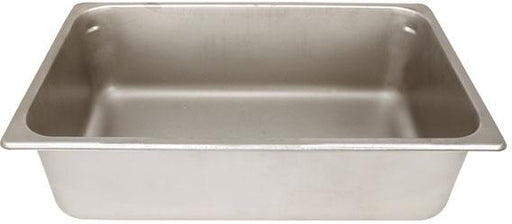 "Alfresco 6"" Deep Ice Pan, Stainless Steel"