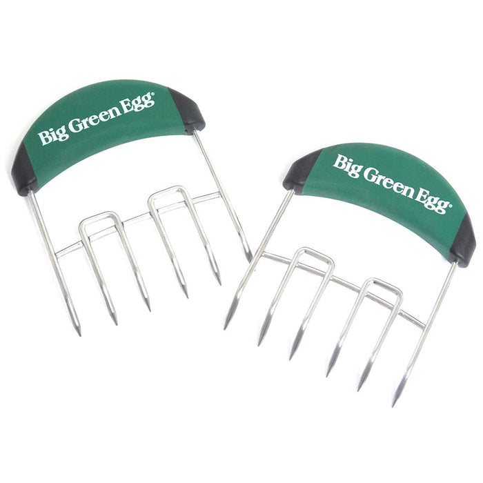 Big Green Egg Stainless Steel Meat Claws w/ Soft Grip Handles - Premier Grilling