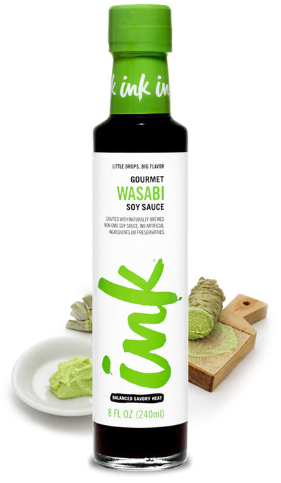 Ink Wasabi Infused Soy Sauce