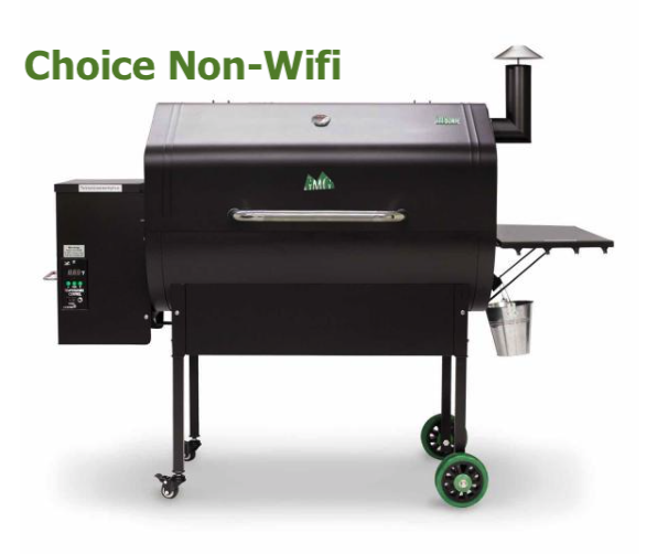 Green Mountain Grills Jim Bowie Choice Pellet Smoker/Grill
