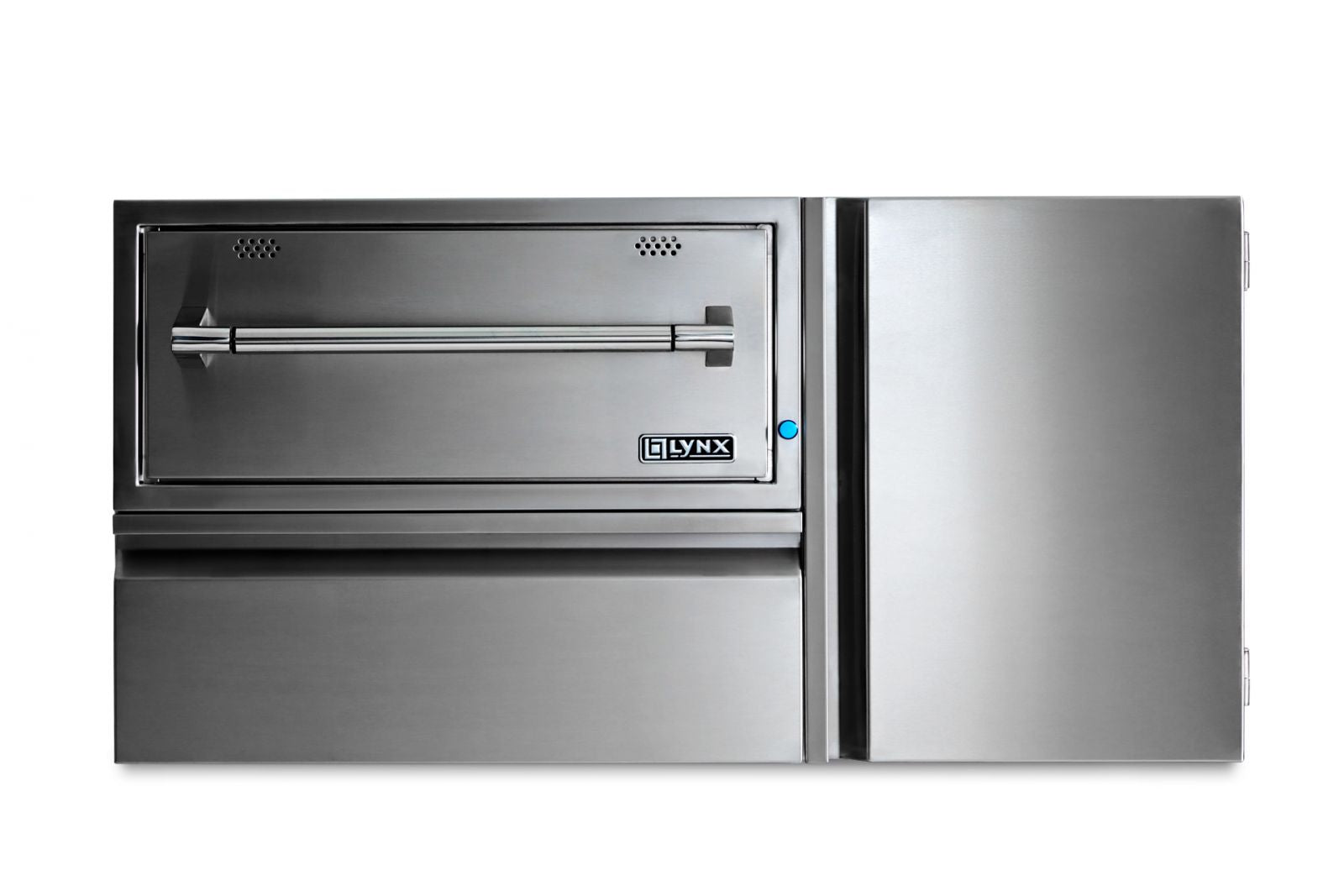 "Lynx 42"" Convenience Center w/ Warming Drawer, Drawer & Tank Storage"