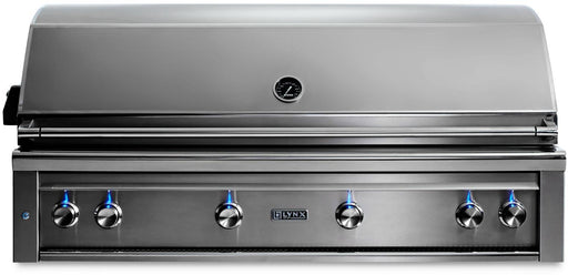 "Lynx 54"" Built-In Grill, 1 Trident w/ Rotisserie - Premier Grilling"