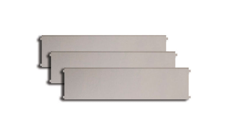 "Perlick 24"" Stainless Steel Drawer Dividers (3-Pack) - Premier Grilling"