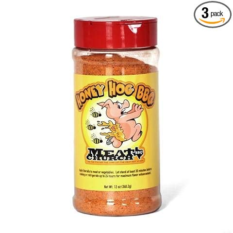 Meat Church Honey Hog Rub (3 Pack) - Premier Grilling