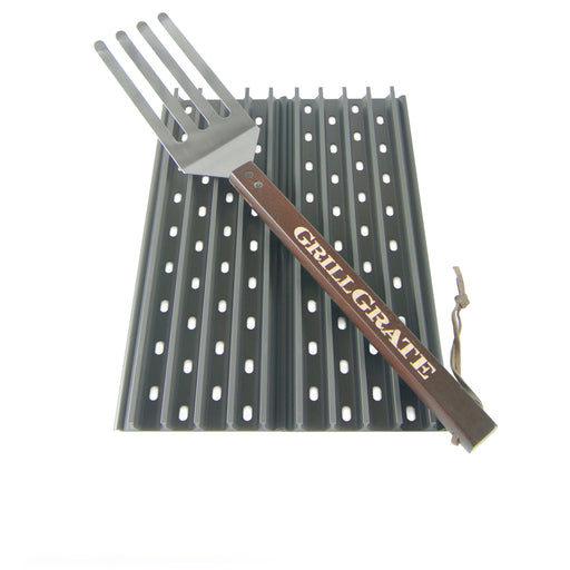 "GrillGrate 12"" Panels for Green Mountain Davy Crockett Pellet Grill, 2-Count"