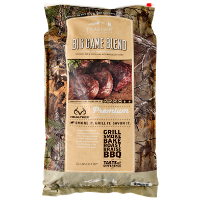 Traeger 33-lb Realtree #33 Big Game Blend