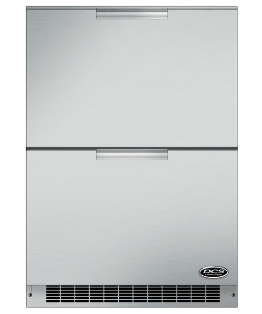 "DCS 24"" Double Refrigerator Drawers - Premier Grilling"