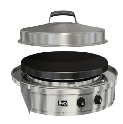 Evo Affinity 25G Drop-In with Seasoned Cooksurface