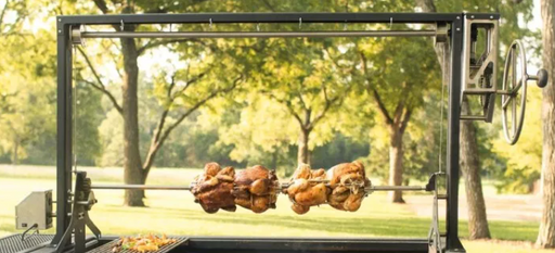 Hooray Grill Company  Model 360 Rotisserie Kit