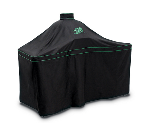 Big Green Egg Ventilated Table Cover w/ Piping & Handle for BGE Hardwood Tables