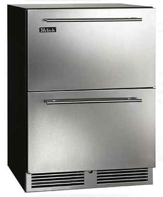 "Perlick 24"" C-Series Indoor Refrigerator Drawers"