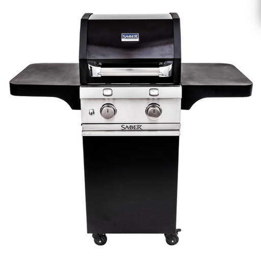 Saber 2-Burner Cast Black Cart Grill (LP)