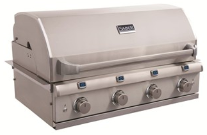 Saber 4-Burner Elite Built-In Grill (NG)