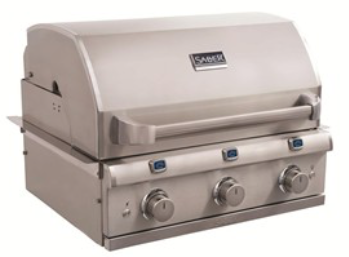 Saber 3-Burner Elite Built-In Grill (NG)
