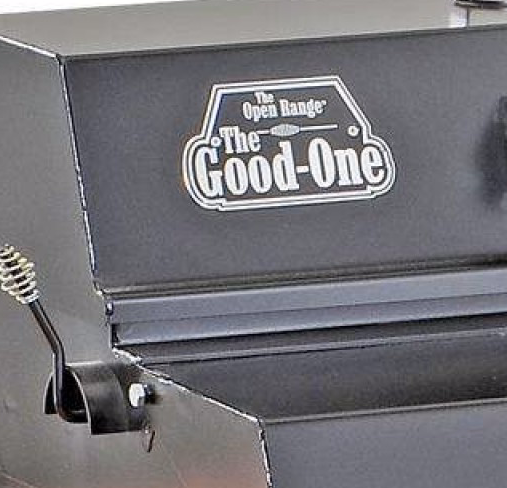 The Good-One Patio Junior Smoker/Grill Name Plate
