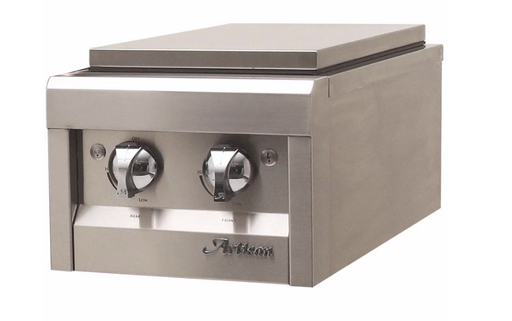Artisan Built-in Double Side Burner - Premier Grilling