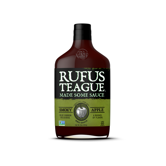Rufus Teague Smokey Apple BBQ Sauce - Premier Grilling