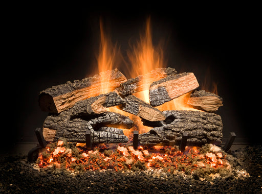 Golden Blount 'Split Bonfire' Charred Logs - Premier Grilling