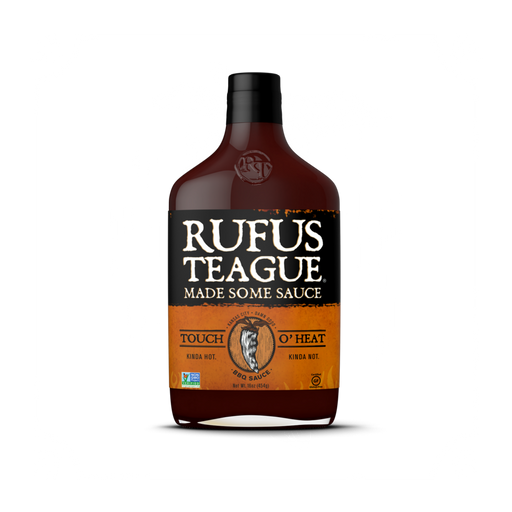 Rufus Teague Touch O' Heat BBQ Sauce - Premier Grilling