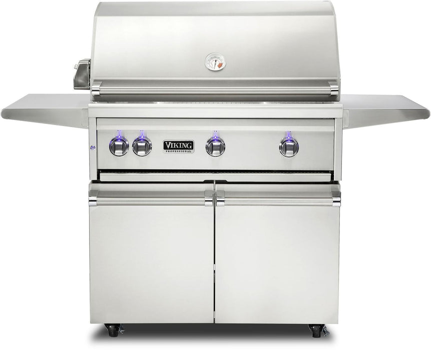 "Viking 36"" Gas Grill on Cart - Premier Grilling"