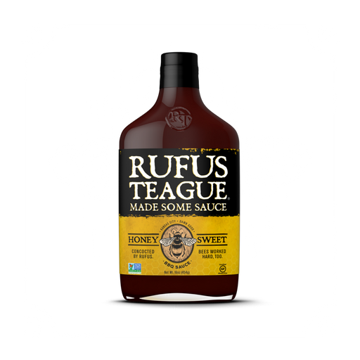 Rufus Teague Honey Sweet BBQ Sauce - Premier Grilling