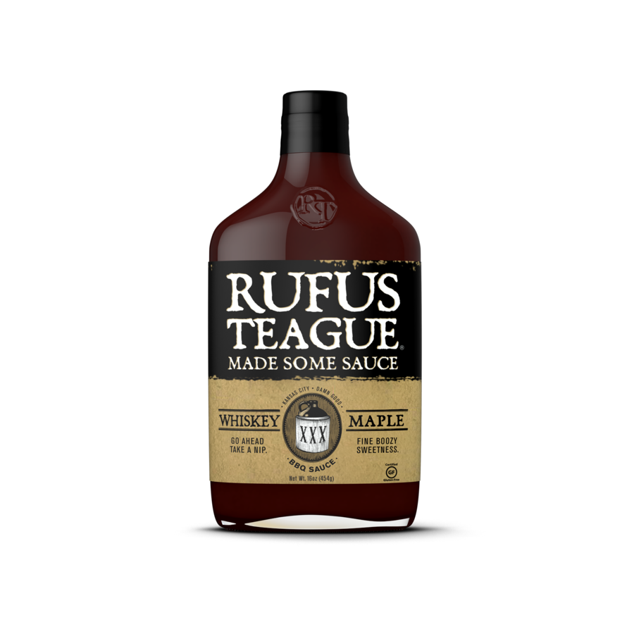 Rufus Teague Whiskey Maple BBQ Sauce - Premier Grilling