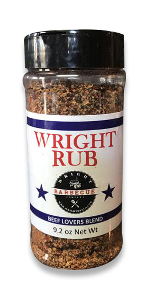 Wright BBQ Beef Lovers Blend 9.2oz - Premier Grilling