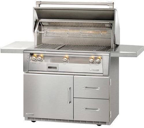 "Alfresco 42"" Standard Gas Grill on Refrigerated Base - Premier Grilling"