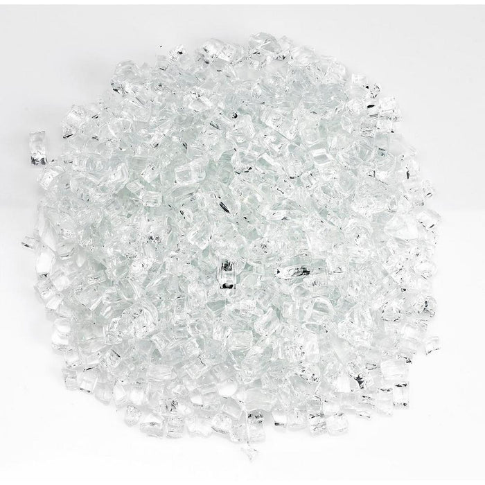 "American Fireglass 10-lb Fire & Pit Glass, 1/4"", Various Colors - Premier Grilling"