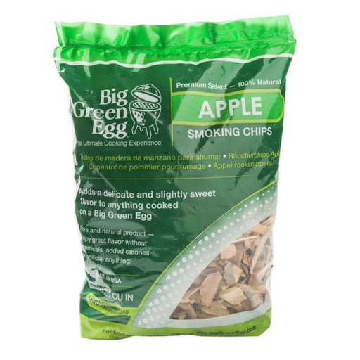 Big Green Egg Premium Kiln Dried Apple Wood Smoking Chips - Premier Grilling