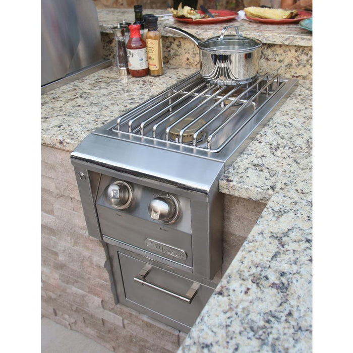 Alfresco Built-In 2-Burner Unit