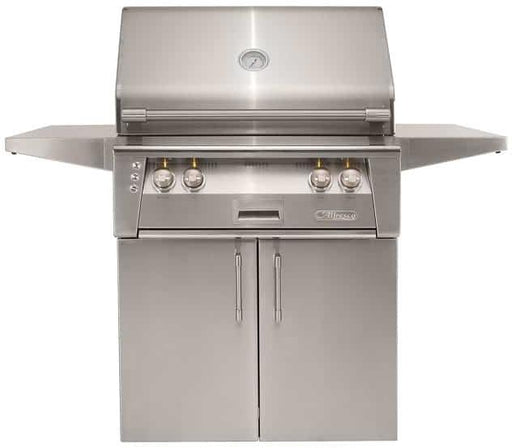 "Alfresco 30"" Sear Zone Gas Grill w/ Cart - Premier Grilling"
