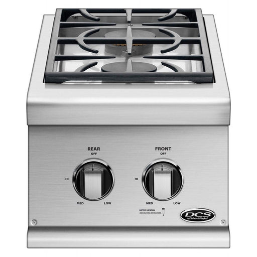 DCS Double Built-In Side Burner - Premier Grilling