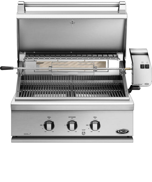 "DCS 30"" Traditional Built-In Grill With Rotisserie"