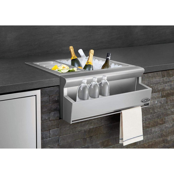 "DCS 25"" Beverage Chiller/Sink - Premier Grilling"