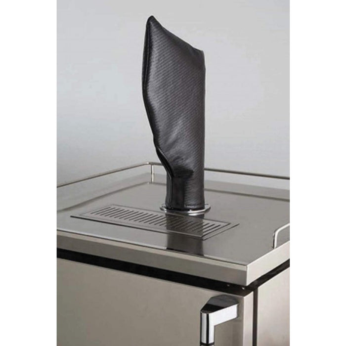 Lynx Carbon Fiber Vinyl Cover for Beverage Dispenser Tower/Tap Head - Premier Grilling