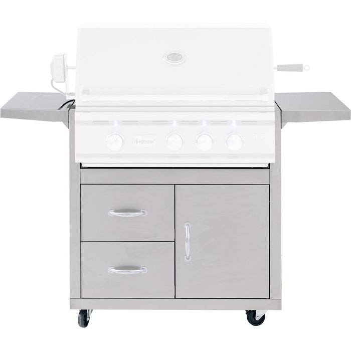 Summerset Deluxe Cart for TRL Grill - Premier Grilling