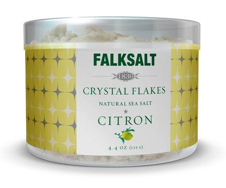 Falksalt Citron Sea Salt Flakes
