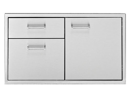 "Delta Heat 36"" Door 2-Drawer Combo - Premier Grilling"