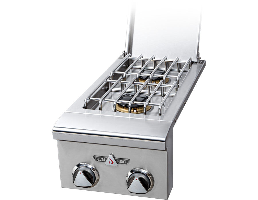 Delta Heat Double Side Burner - Premier Grilling
