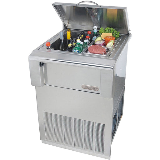 Alfresco Drop-In Refrigerator w/ Cart