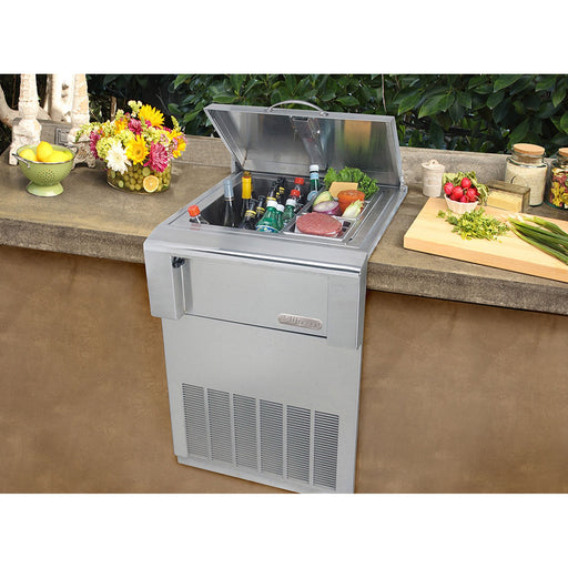 Alfresco Built-In Counter Top Refrigerator