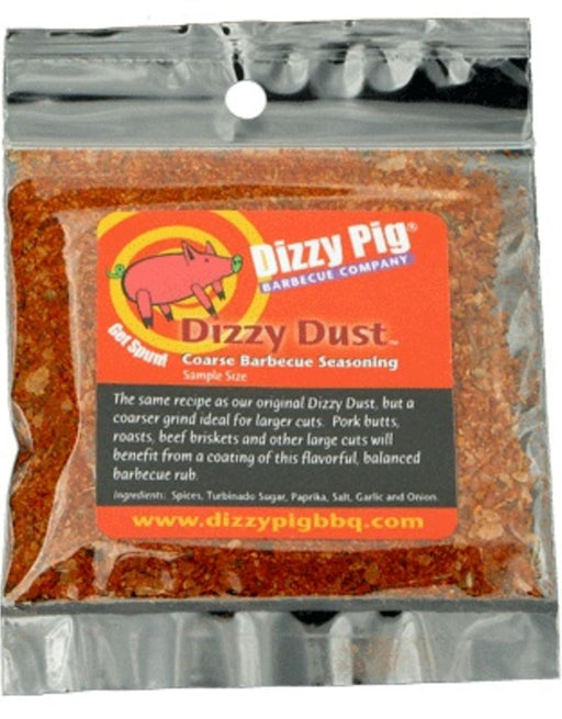 Dizzy Pig Dizzy Dust Coarse BBQ Rub (Sample) - Premier Grilling