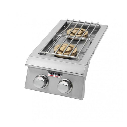Delsol Double Side Burner - Premier Grilling