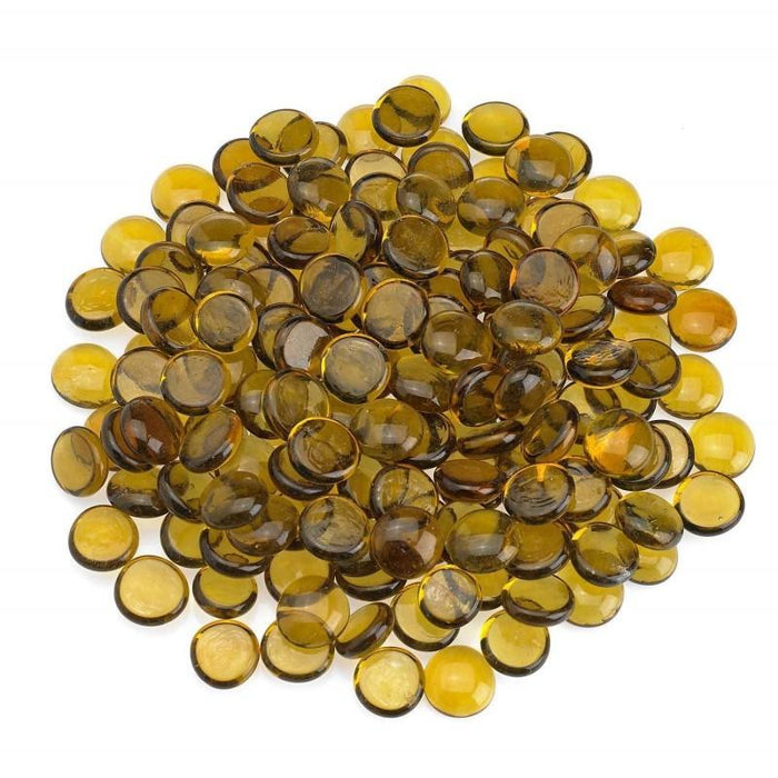 American Fireglass 10-lb Fire & Pit Glass Beads, Various Colors - Premier Grilling